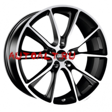 Диск BBS 10,5x22/5x130 ET50 D71,6 SV Satin Black Diamond Cut